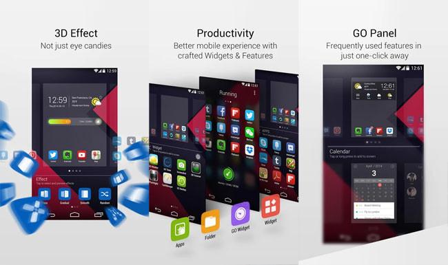 GO Launcher 5, ya disponible el renovado lanzador de aplicaciones de Android