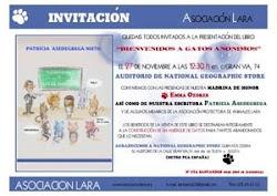 """(12/11/011)""""Bienvenidos a gatos anónimos"""", para la CONSTRUCCIÓN DE UN ALBERGUE FELINO en Segovia"""