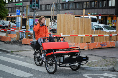 Rickshaw in COPENHAGEN