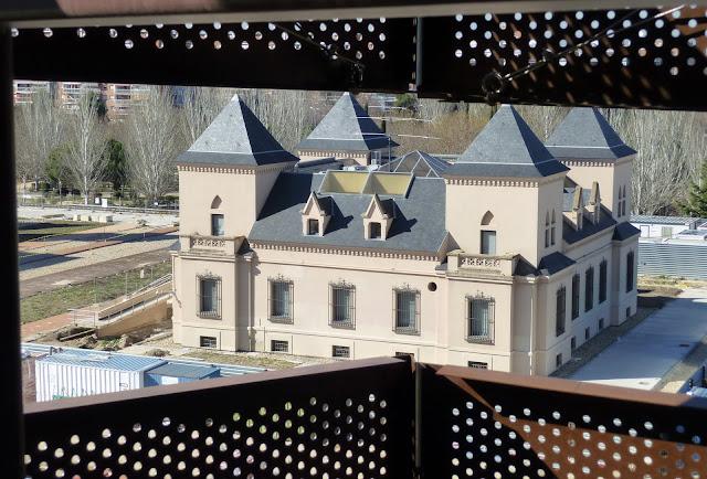 AASB visita CREAA. Los Castillos de Valderas desde el Auditorio