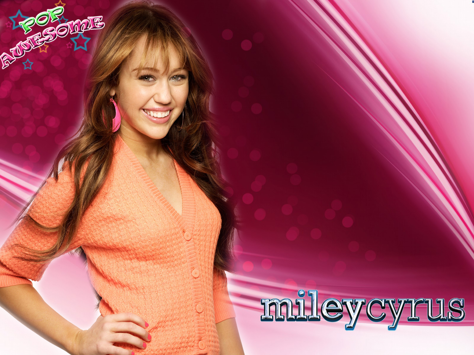 Beautiful Celebrities Images: Miley Cyrus Desktop Wallpapers