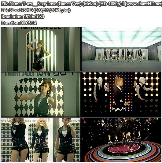 Download MV T-ara - Sexy Love (Dance Version) (Melon Full HD 1080p)