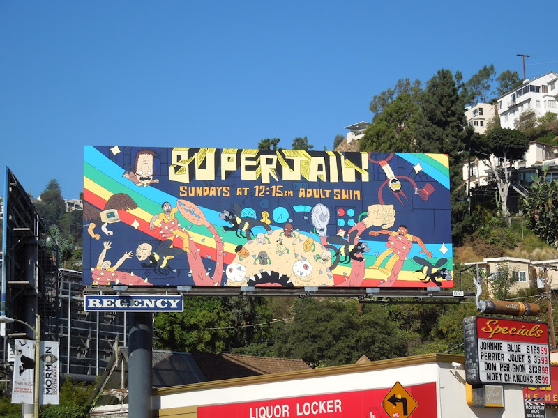 Superjail! season 3 billboard