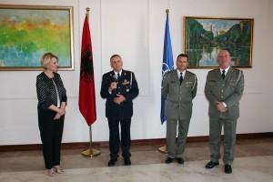 Nazmi Cahani, Vladimir Avdiaj dhe Dedë Prenga - Gjeneralët e rinjt të Shqipërisë