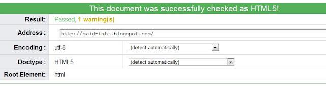 Cara Membuat Template Valid HTML 5 [blogspot]