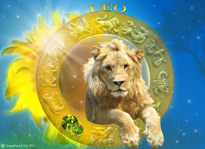 signo leo con leon real