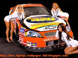 SEXY WOMEN NASCAR WALLPAPER