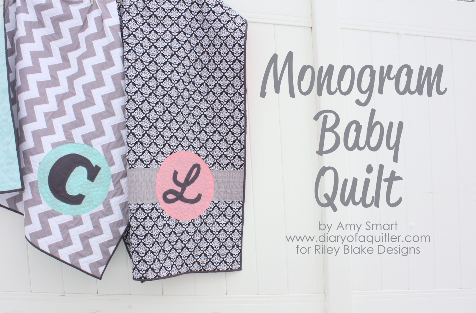 Monogramming Quilts - Kitchen Layout and Decorating Ideas