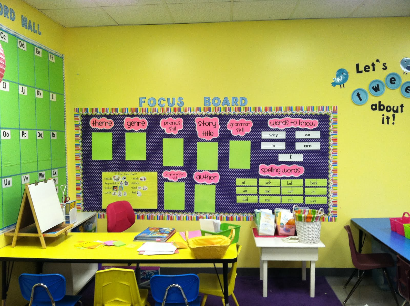 Life in First Grade: Classroom decorating: Day Four
