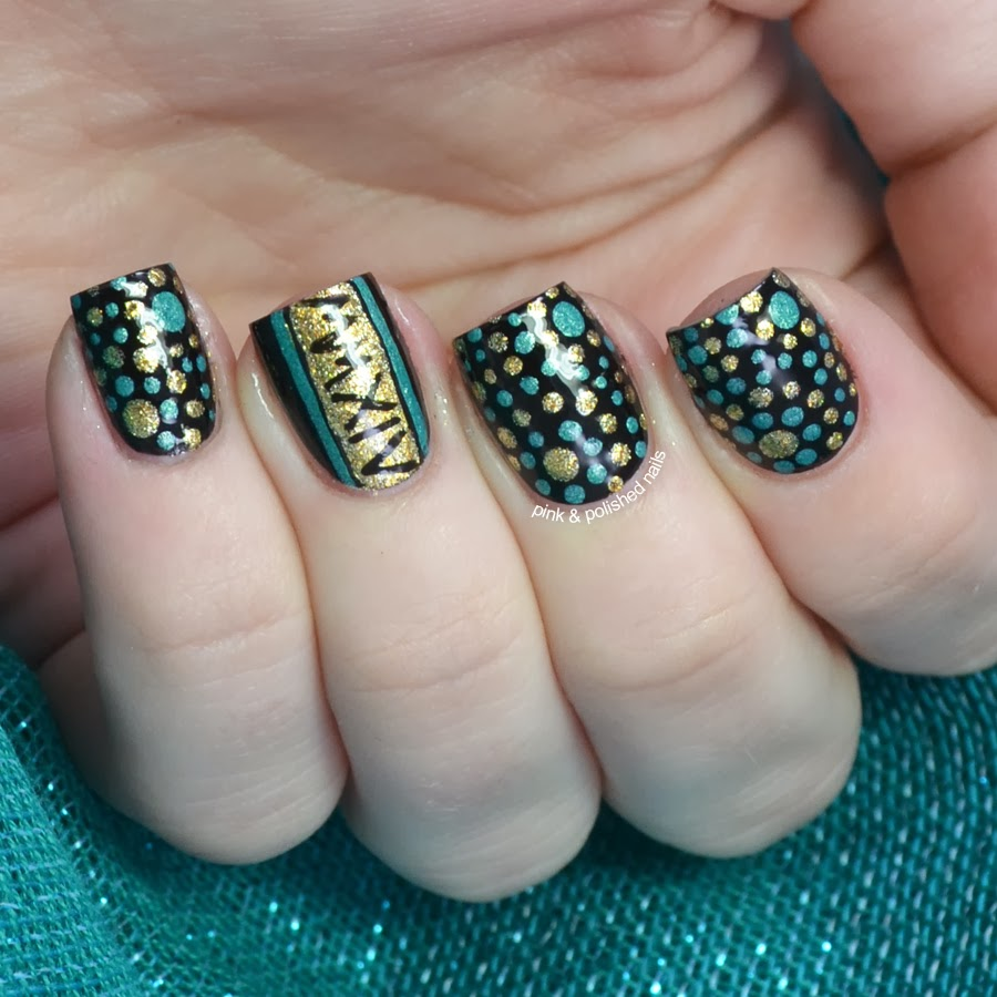 pink amp polished new years eve dotticure