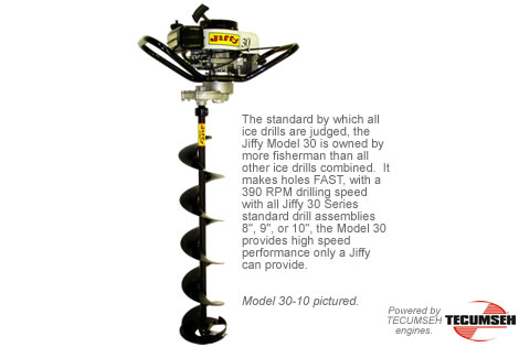 Jiffy Ice Auger Model 302