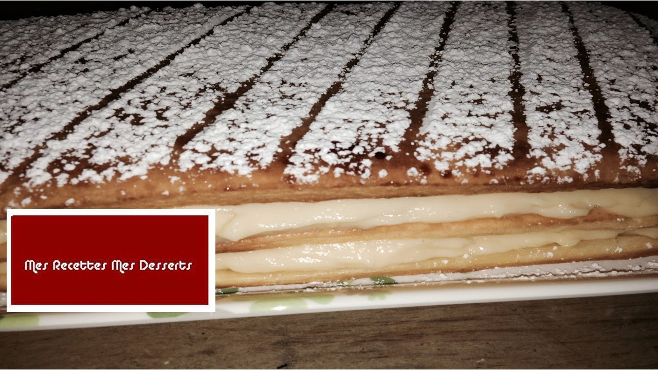 "millefeuille  ""mes emes desserts"""