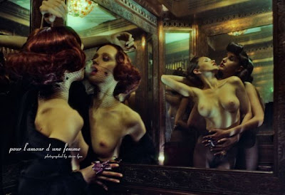 'Filles De Nuit' by Steve Lyon for Treats! #2 Fall 2011 (NSFW)