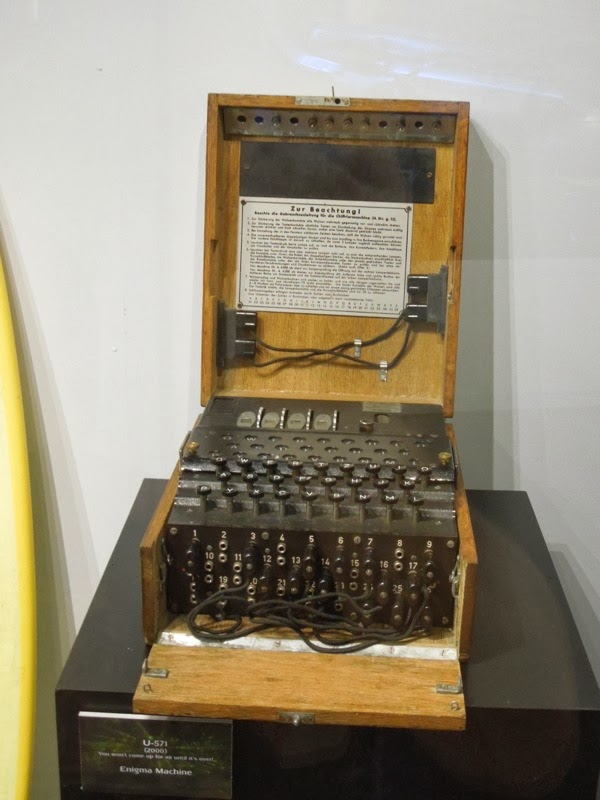 U571 Enigma Machine film prop