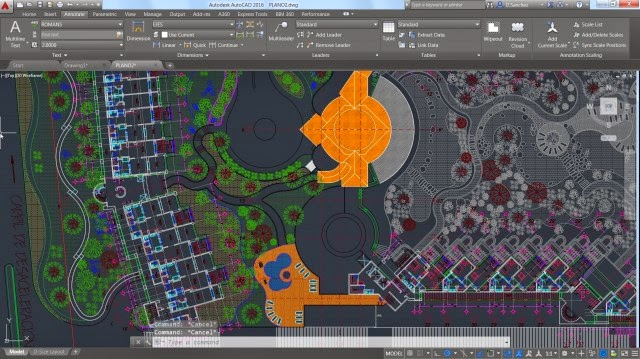 autocad 2016 screenshot 2