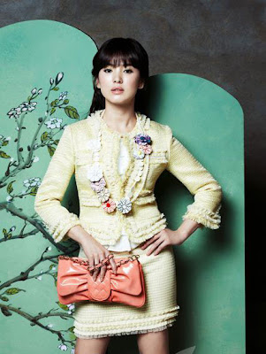 Korean actress Song Hye-kyo Photoshoot