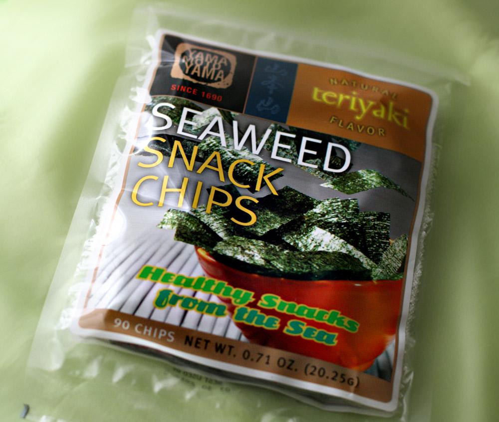 how to make seaweed snacks