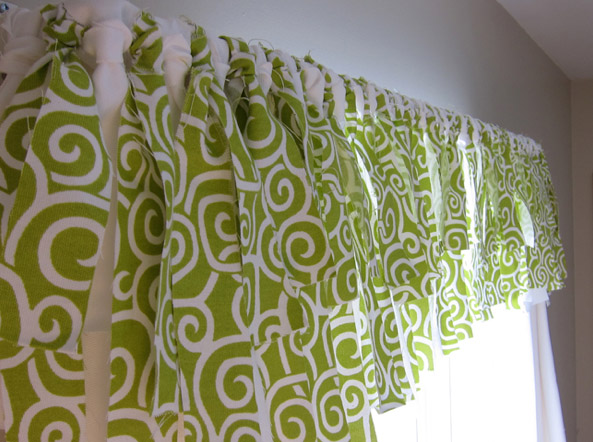 Easy No Sew Window Valance From Momtastic