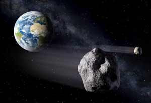 Asteroid Hantam Bumi