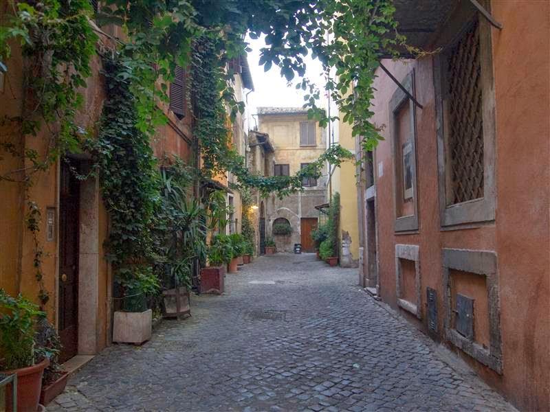 Barrio del Trastevere