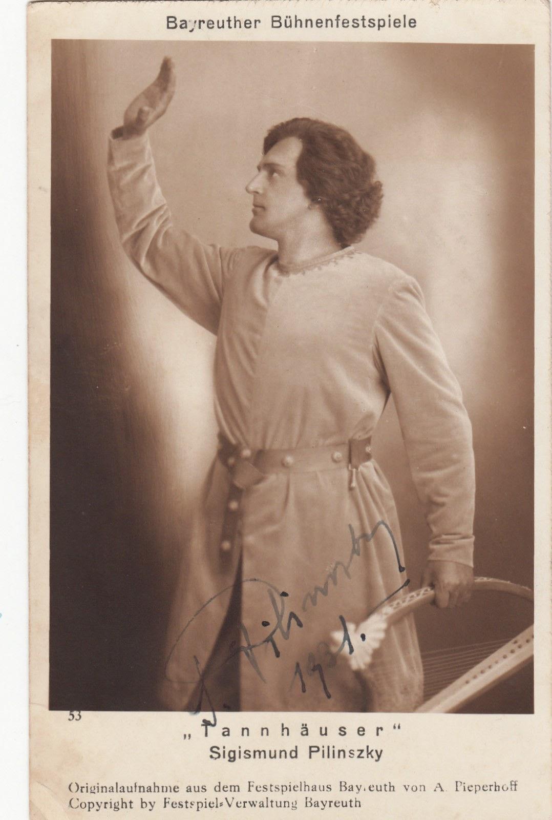 HUNGARIAN TENOR SIGISMUND PILINSKY (1891-1963) CD