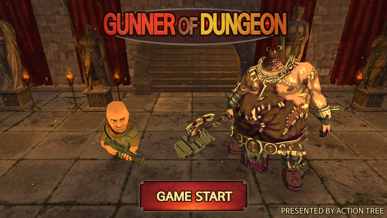 Gunner Of Dungeon Gameplay Android