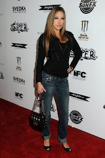 Jenna Haze at the Super Premiere