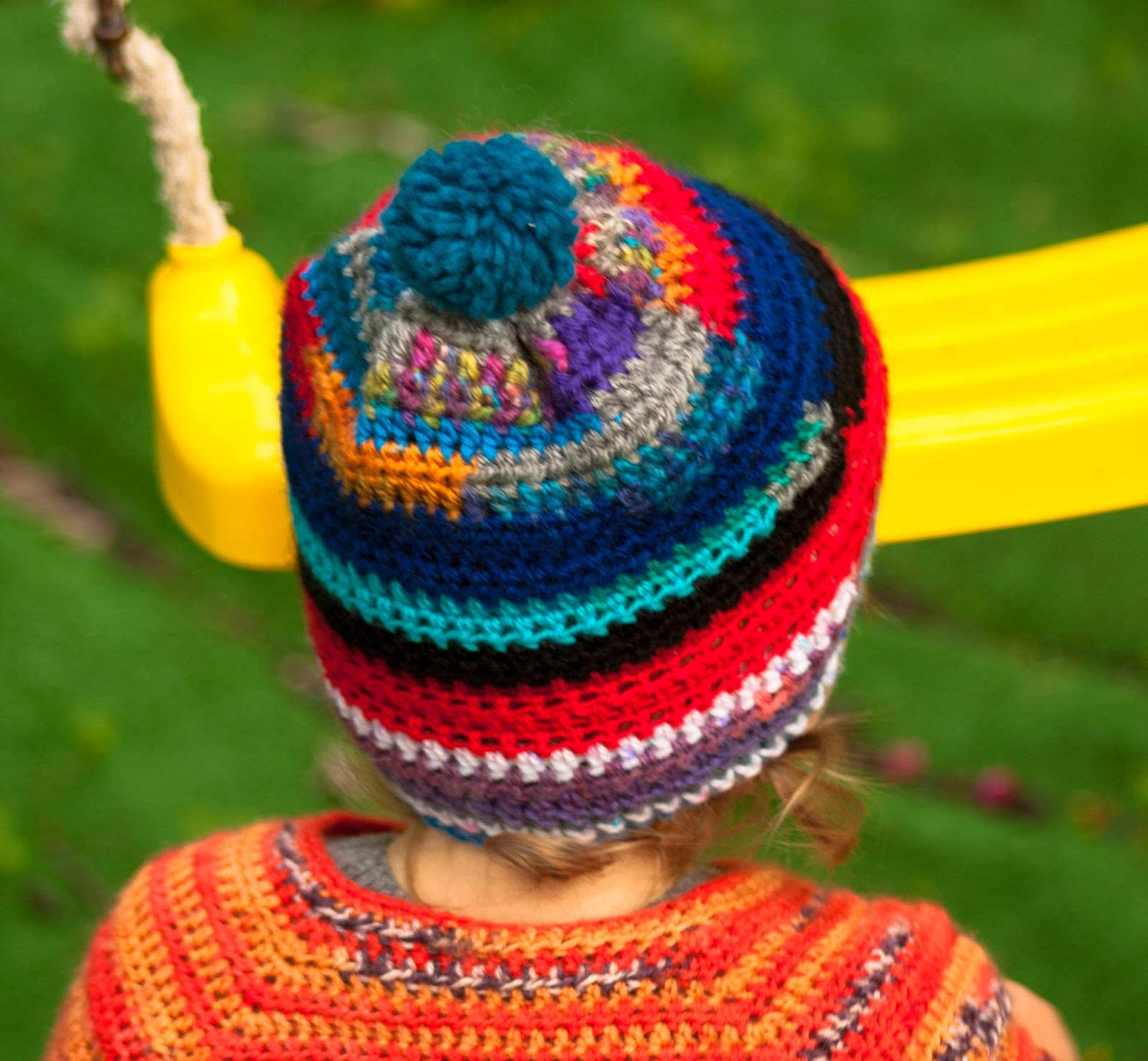 Days of Yarning: Quick and Easy Crochet Hat - Free Pattern