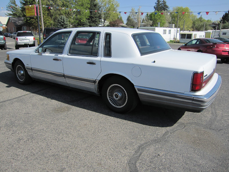Abc auto clinic 1990 lincoln town car