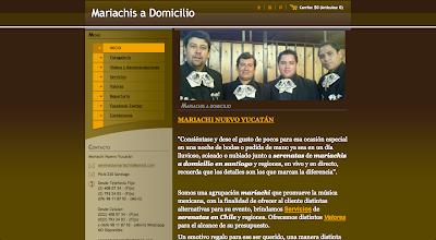 Mariachis y Serenatas a domicilio con Charros en Chile www.directoriopax.com