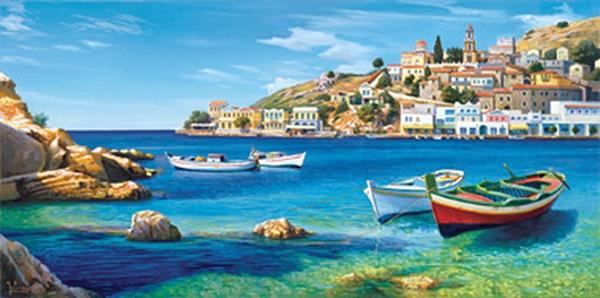 Impressioni artistiche adriano galasso for Paesaggi marini dipinti