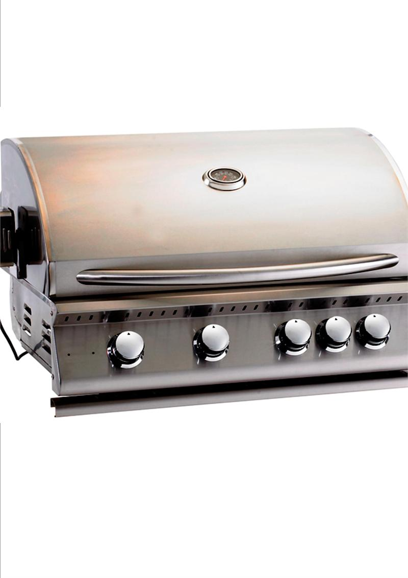 Home products stainless steel grill natural gas