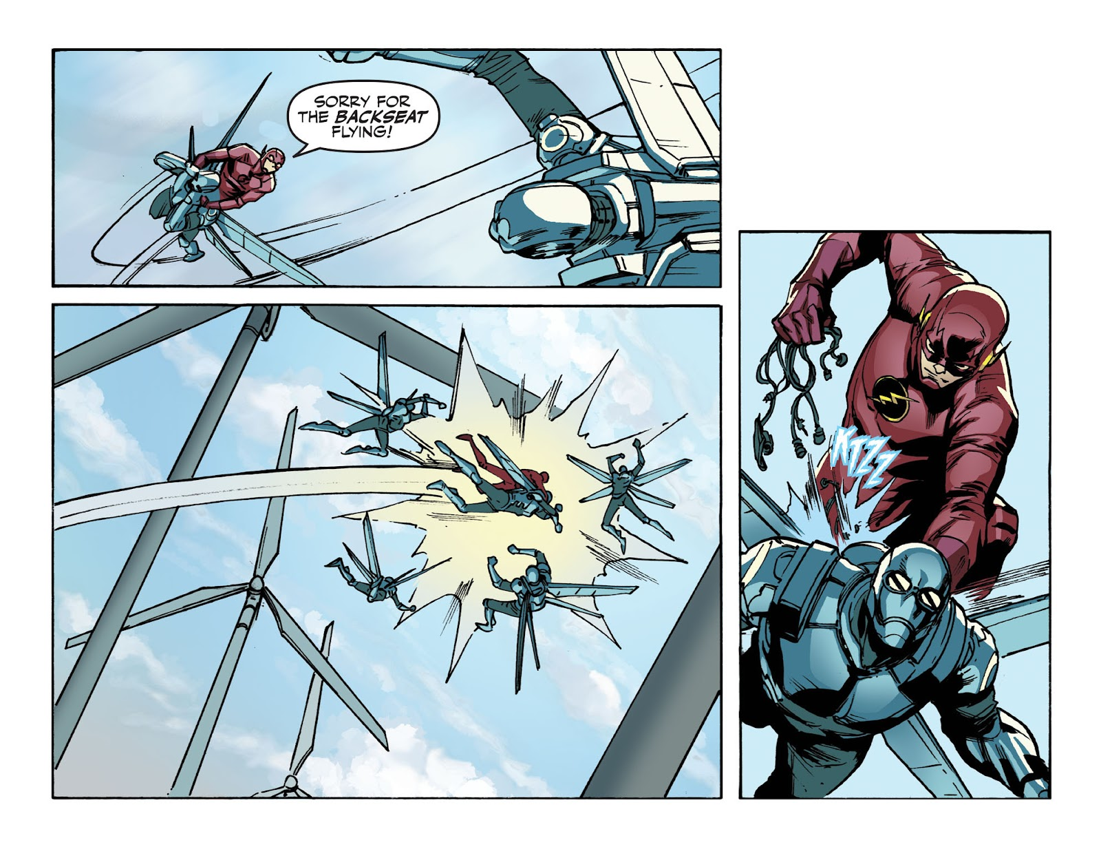 The Flash: Season Zero [I] Issue #10 #10 - English 17