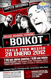 Boikot en Guadalajara 2012