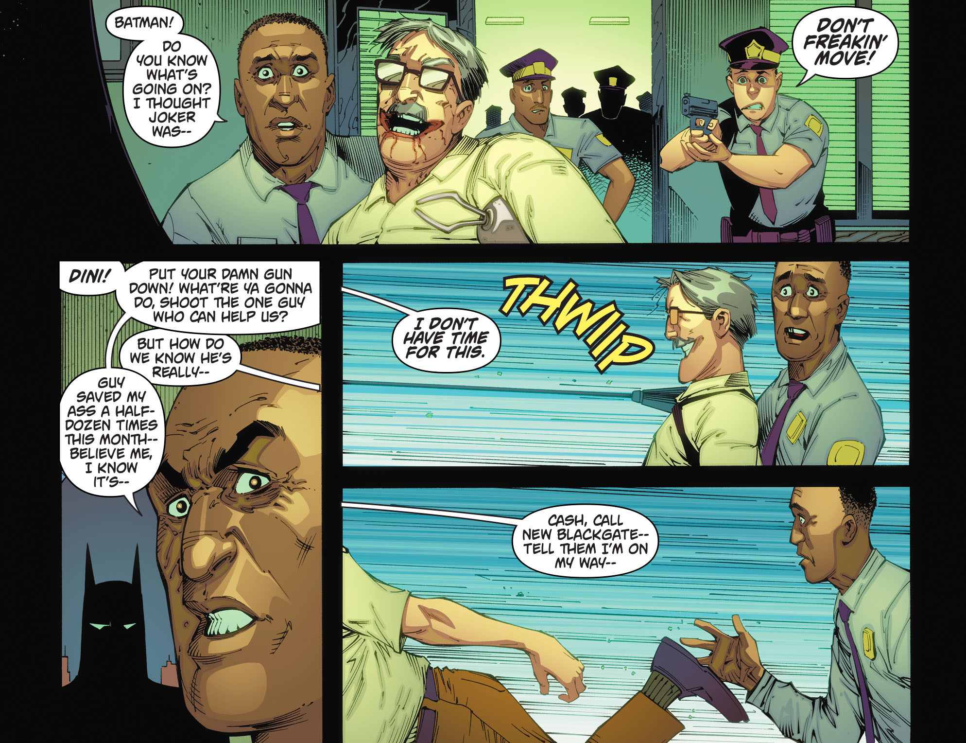 Batman: Arkham Knight [I] Issue #5 #7 - English 6