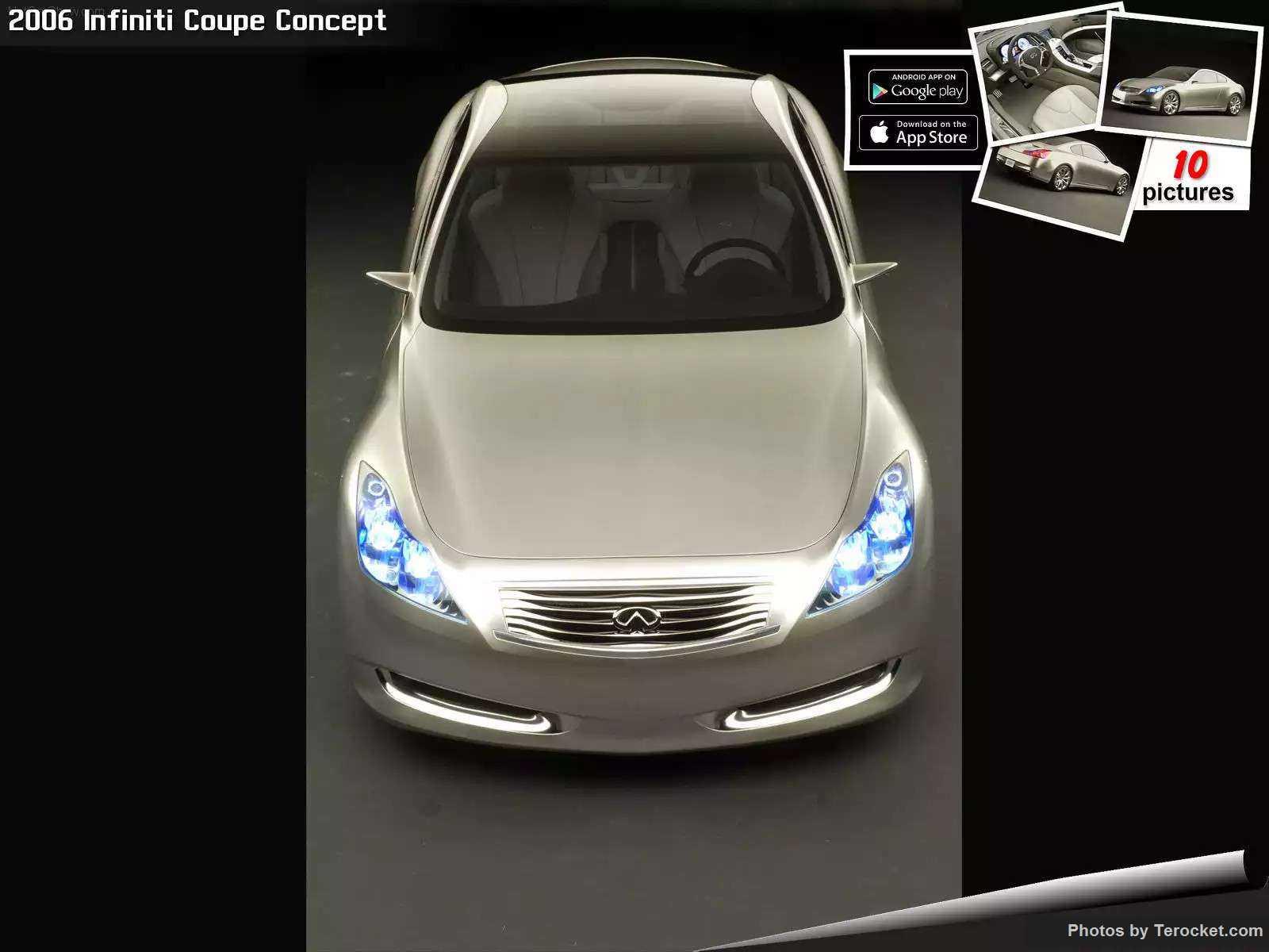 Hình ảnh xe ô tô Infiniti Coupe Concept 2006 & nội ngoại thất