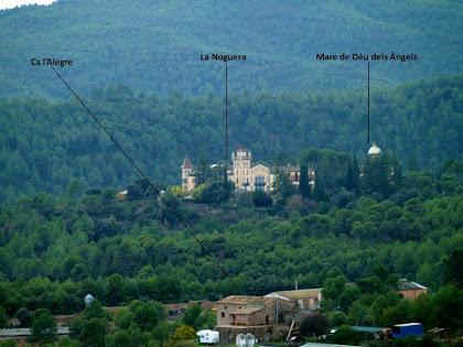 La Torre de Cal Gallifa des de la Solana de la Morera