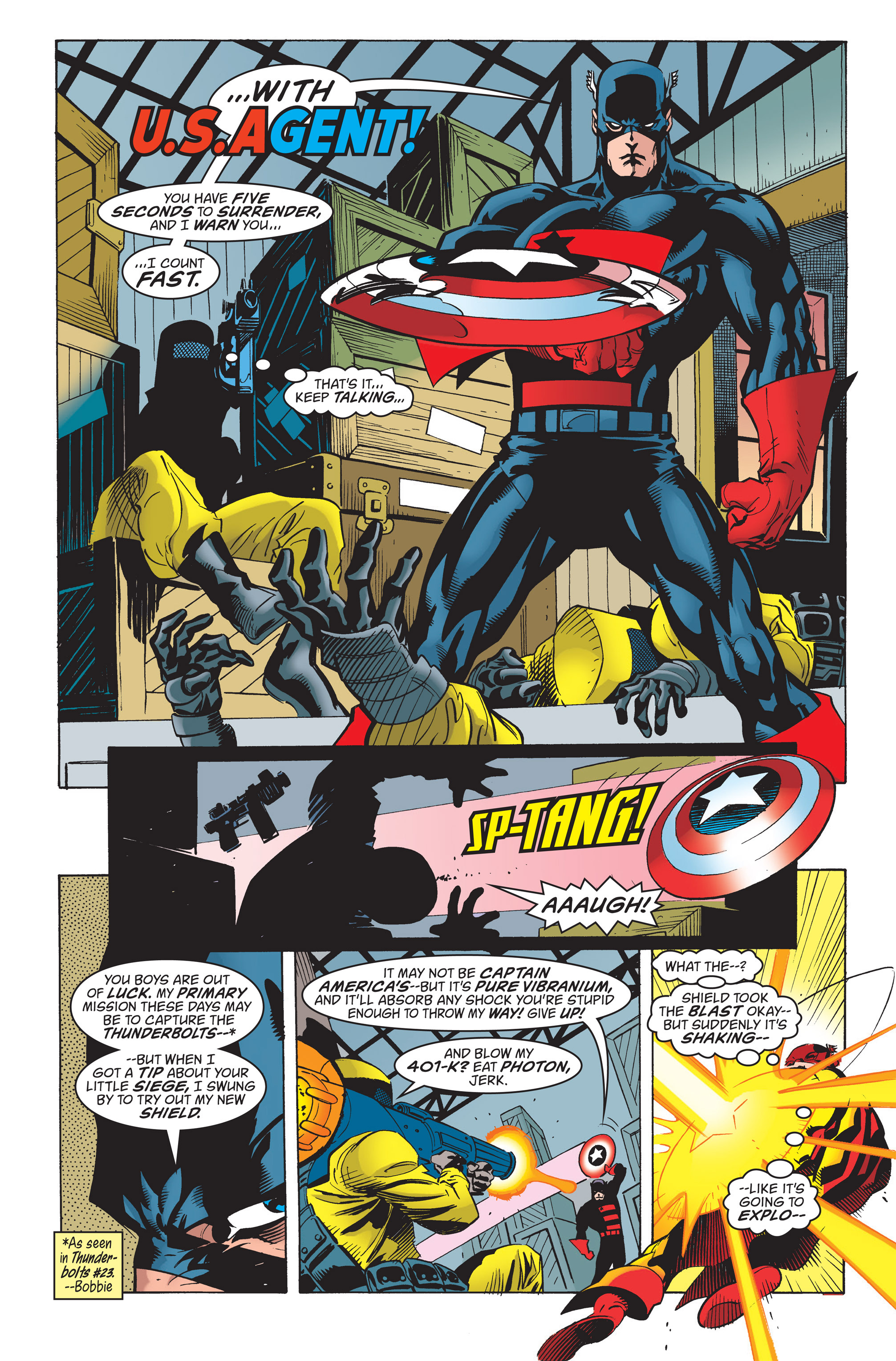 Captain America (1998) Issue #20 #26 - English 3