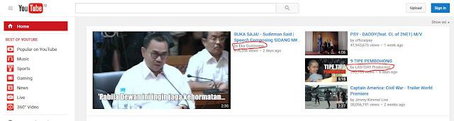 Etnis China Menguasai Youtube Indonesia
