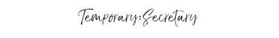 Temporary:Secretary | UK Fashion & Beauty Blogger