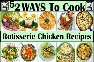 PreCooked PreSeasoned Store Bought Chicken Recipes