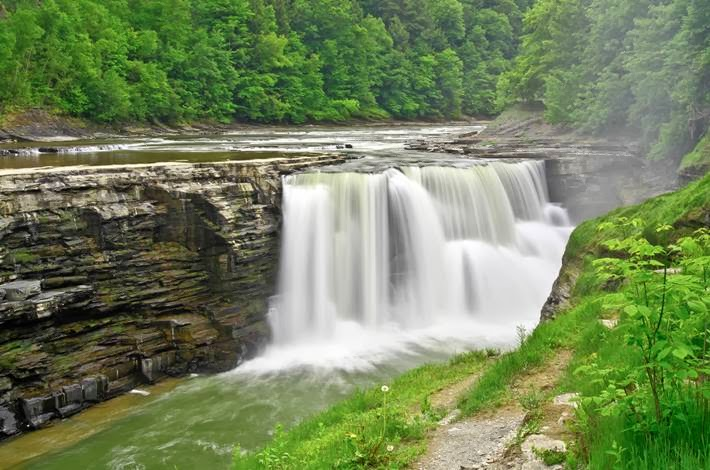 The Highest waterfall in New York | Letchworth State Park