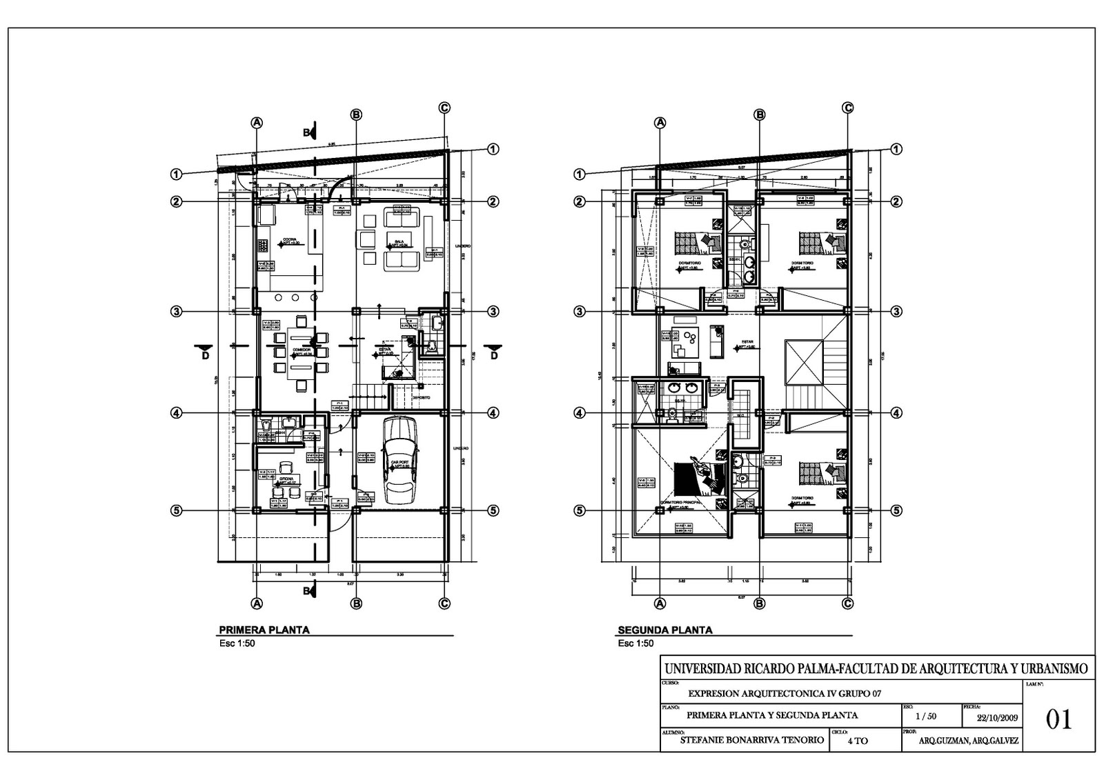 Expresi N Arquitect Nica 4 Planos De Arquitectura