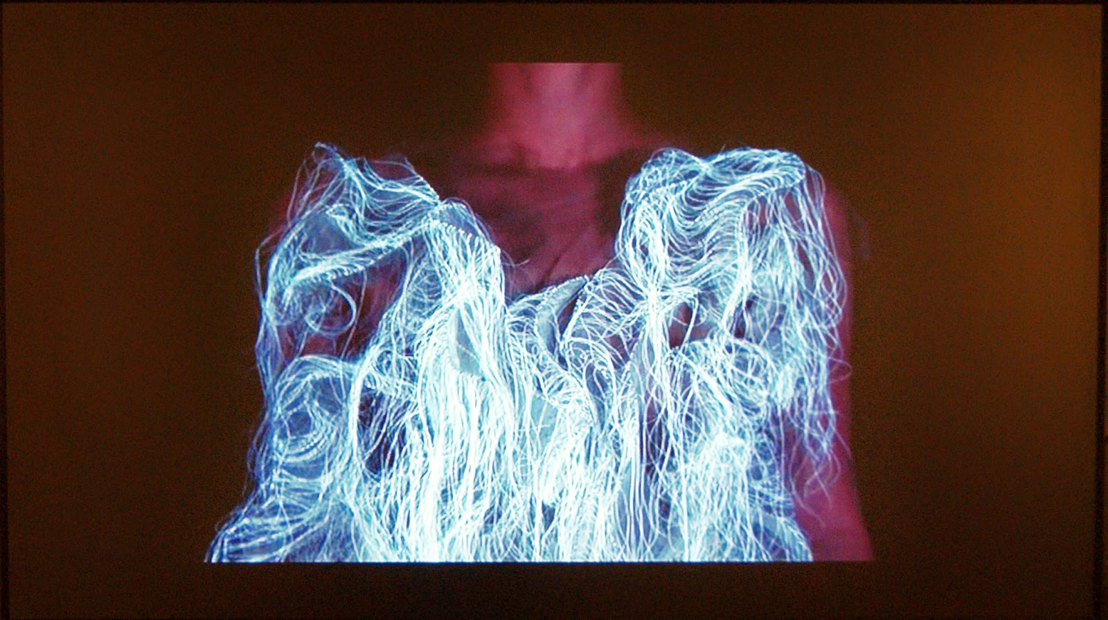 Fashion The Intangible: the conceptual clothing of Ying Gao exhibition at The Textile Museum of Canada in Toronto, art, culture, exhibit, vinly, latex, Melanie_ps, The Purple Scarf, Canada, designer