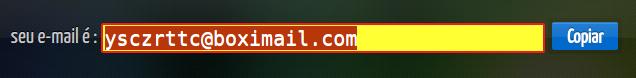 Como fazer de graça uma email temporário