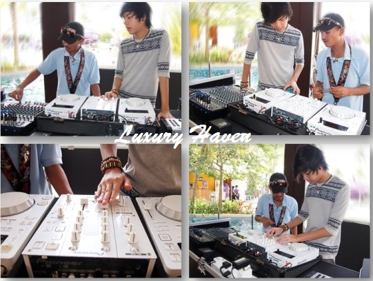 hard rock hotel penang lobby lounge dj activity