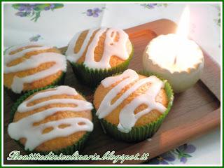 Muffins al bergamotto