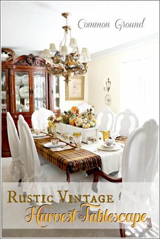 Rustic Vintage Tablescape