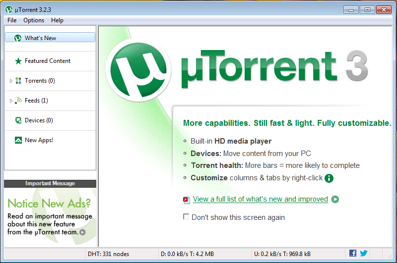 download manager utorrent