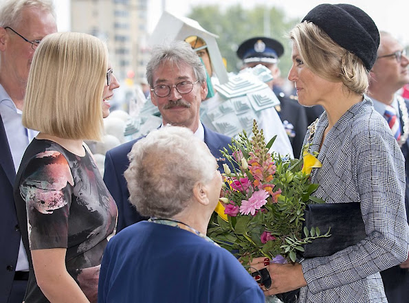 Queen Maxima of The Netherlands attended the celebrations of the National Huurdersdag (rentalday) 25th anniversary
